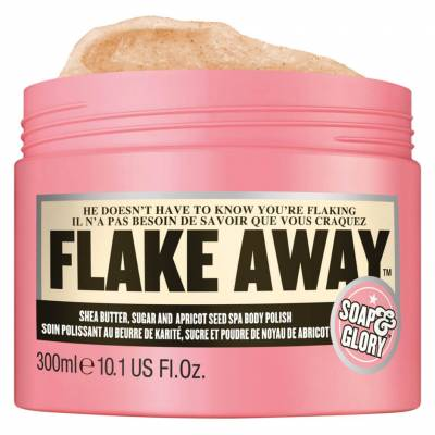 i 008917 flake away spa body polish 1 940 400x400 - Soap & Glory Flake Away 300 ML