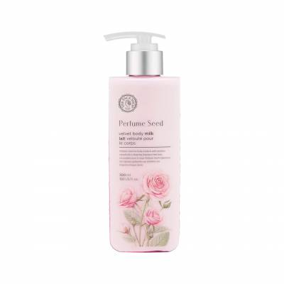 roselotion 400x400 - The Face Shop Perfume Seed Rich Body Milk - Rose 300 ML