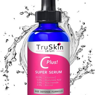 61EMy8ffAXL. SL1250  400x400 - TruSkin Naturals Vitamin C plus Super Serum - Age Defense formula 30ml
