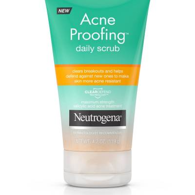 neutrogena scrub acne proofing 400x400 - Neutrogena Facial Scrub-  Acne Proofing 4.2oz