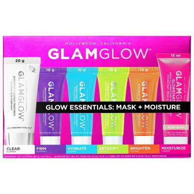 s2188084 main zoom 400x400 - GLAMGLOW Glow Essentials Mask + Moisture Set-6Pcs Set