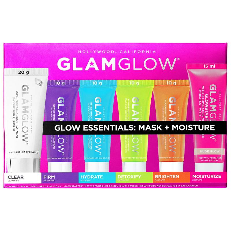 s2188084 main zoom 800x800 - GLAMGLOW Glow Essentials Mask + Moisture Set-6Pcs Set