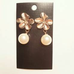 31 2 pc cost XX price 550 247x247 - Jewellery Ear Adornments - Gold Periwinkle Drops