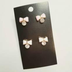 34 2 pc cost XX price 650 247x247 - Jewellery Ear Adornments - Mini Bow Studs