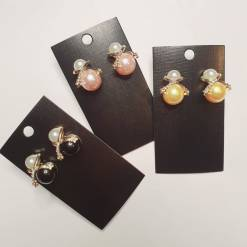 47 1 pc cost XX price YY 247x247 - Jewellery Ear Adornments - Pearl Drops (variations)