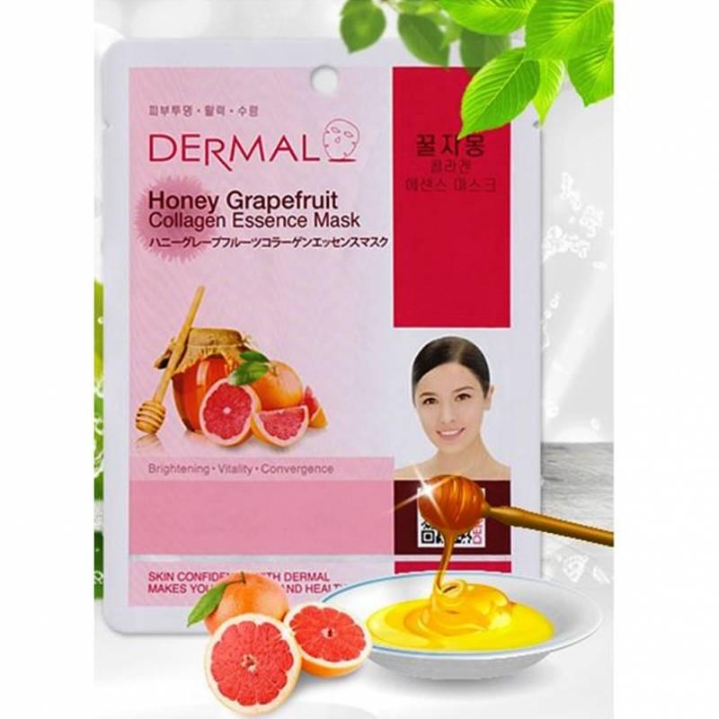 61iUaKyuTeL. SL1001  800x800 - Dermal Sheet Mask Collagen Essence - Honey Grapefruit