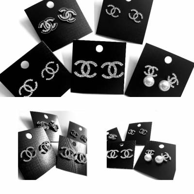 65 channel 01 400x400 - Jewellery Ear Adornments - Courageous Chanel (variations)