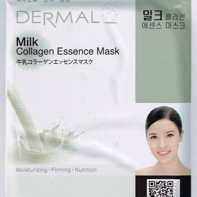 Milk 400x400 - Dermal Sheet Mask Collagen Essence - Milk