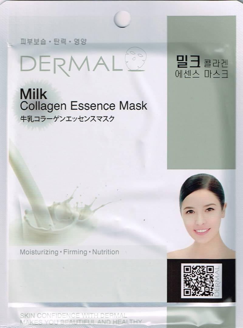 Milk 800x1080 - Dermal Sheet Mask Collagen Essence - Milk