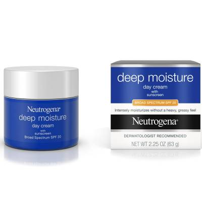deep moisture day cream spf20 400x400 - Neutrogena Deep Moisture - Day Cream with Broad Spectrum SPF20  63g