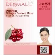 dermal acerola collagen 180x180 - Dermal Sheet Mask Collagen Essence - Acerola