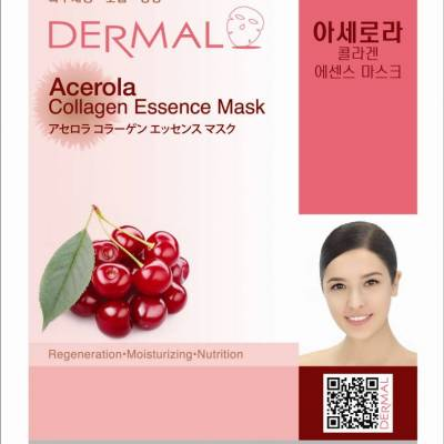 dermal acerola collagen 400x400 - Dermal Sheet Mask Collagen Essence - Acerola