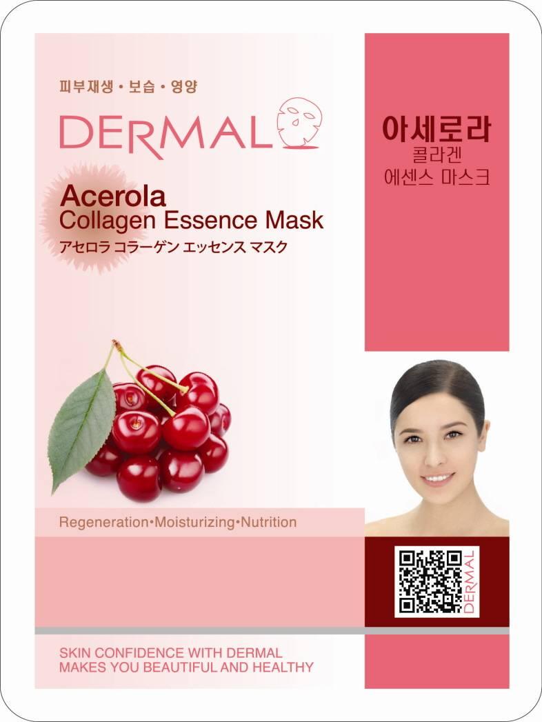 dermal acerola collagen - Dermal Sheet Mask Collagen Essence - Acerola