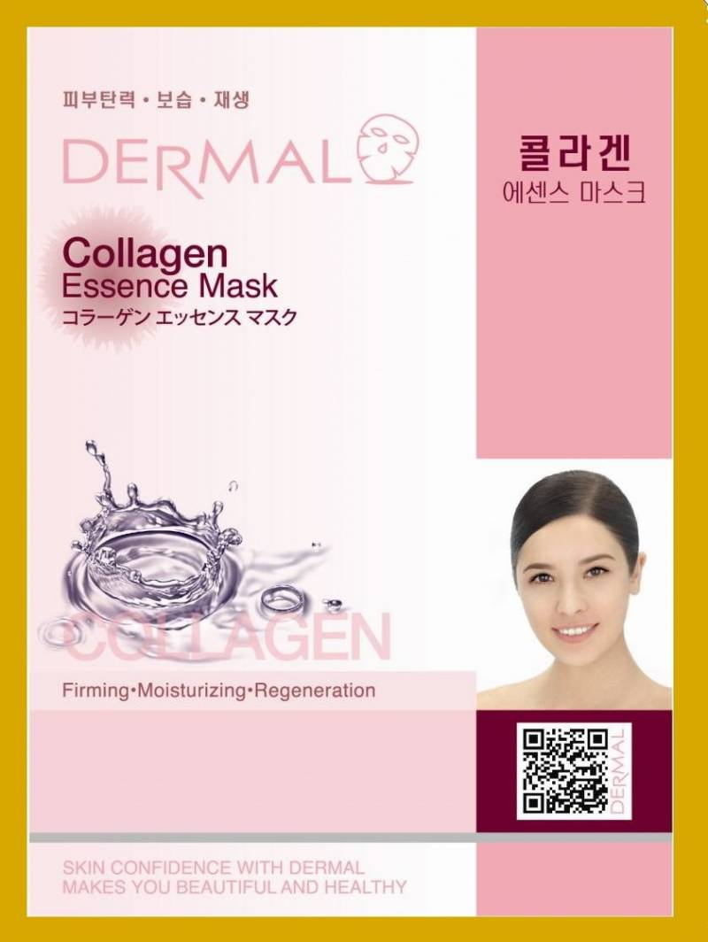 dermal collagen essence 800x1064 - Dermal Sheet Mask Collagen Essence - Premium