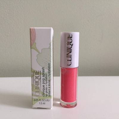 lip gloss rosewater pop 400x400 - Clinique Pop Splash Lip Gloss - Rosewater Pop mini