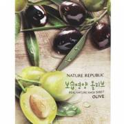 nature republic sheet mask olive 180x180 - Nature Republic Real Nature Sheet Mask - Olive