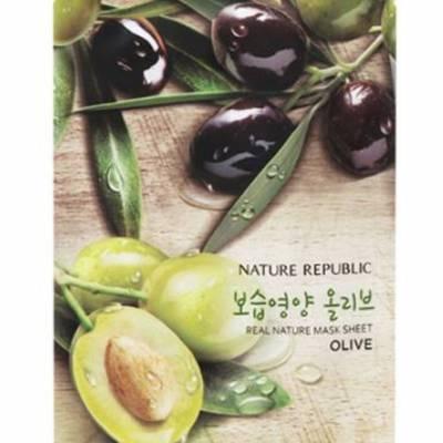 nature republic sheet mask olive 400x400 - Nature Republic Real Nature Sheet Mask - Olive