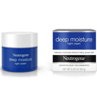 night cream deep moisture 01 400x400 - Neutrogena Deep Moisture - Night Cream 63g