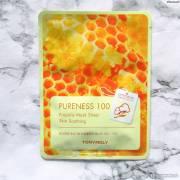 tony moly sheet mask pureness 100 180x180 - Tony Moly Sheet Mask Pureness 100 - Propolis