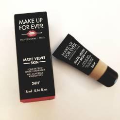 51sp6MM0q2L. SL1100  247x247 - Makeup Forever Full Coverage Foundation, Matte Velvet Skin - Y415 Almond (Trial Size 5ml)