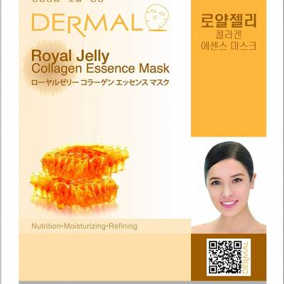 61bEIVOHkpL. SL1000  1 400x400 - Dermal Sheet Mask Collagen Essence - Royal Jelly