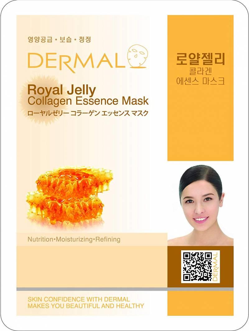 61bEIVOHkpL. SL1000  1 800x1062 - Dermal Sheet Mask Collagen Essence - Royal Jelly