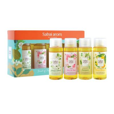 Scent of Thailand Massage Oil 03 400x400 - Sabai Arom Bath & Shower Gel - Various Fragrances 75ml