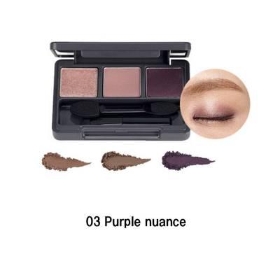 purple 2 400x400 - The Face Shop Triple Eye Shadow - 03 Purple Nuance 3.2g