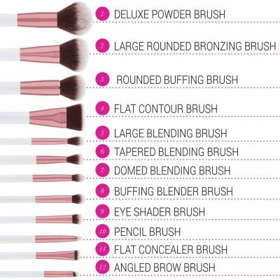 temp 1 400x400 - BH Cosmetics 12 piece Brush Set with Cosmetic Case - Crystal Quartz
