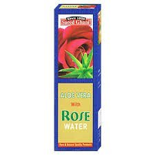 rosewater with Aloevera extract