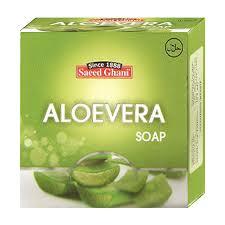 saeed ghani Alovera soap 75gm