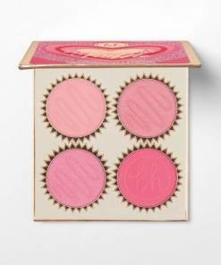 Bhcosmetics Vanilla Strawberry Truffle - 4 color Blush Palette