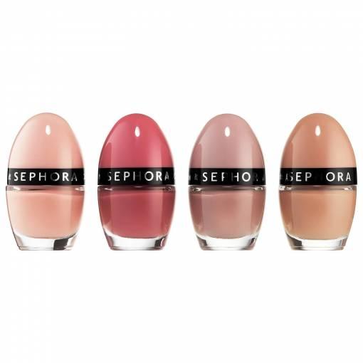 Sephora Natural Colors 4 Pcs Nail Colors Kit