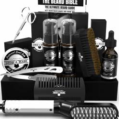 Beard Straightener grroming kit for men