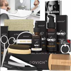 Dovich 12-in-1 Beard Grooming Care Kit for Men