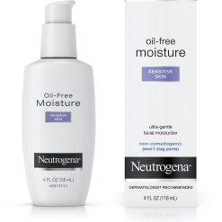 Neutrogena Oil-Free Facial Moisturizer, Sensitive Skin, 4 Fl Oz in pakistan