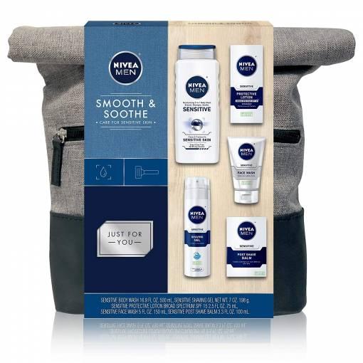 Nivea Smooth & Soothe Gift Set for Men