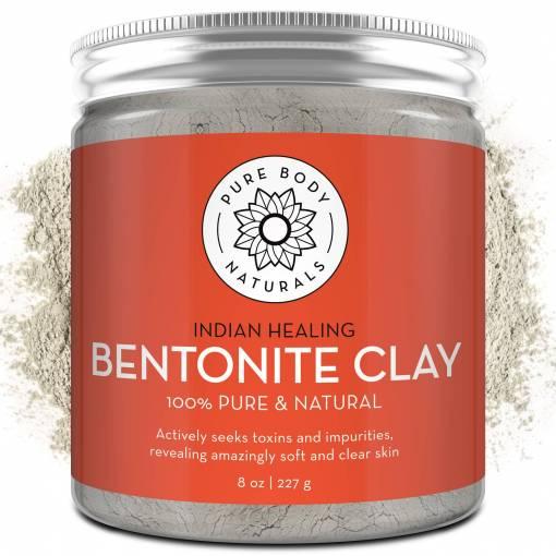 Pure Body Naturals Indian Healing Bentonite Clay in Pakistan