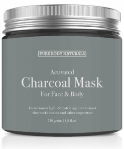 Pure body naturals Activated Charcoal Mask