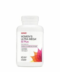 GNC women's Multivitamins 50+ 60 Caplets Price in Pakistan