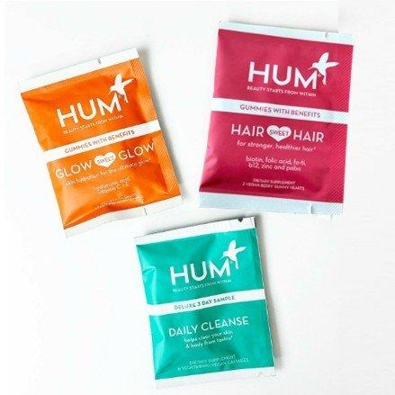 Hum Gummies Glow Multivitamins Sachet Pack of 2