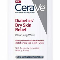 CeraVe Body Wash for Diabetics' Dry Skin