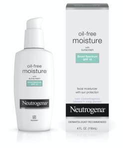 Neutrogena oil-free moisturizer with sunscreen