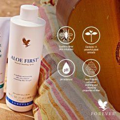 forever living aloe first spray