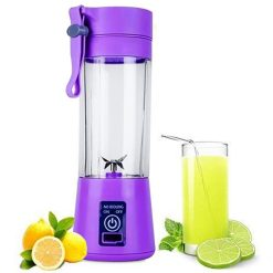 portable and rechargeable battery juice blender