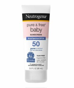 Neutrogena Pure & Free Baby Sunscreen SPF 50
