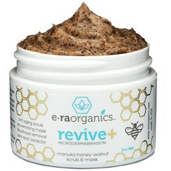 Era Organics Revive+ Manuka Honey Walnut Scrub & Mask