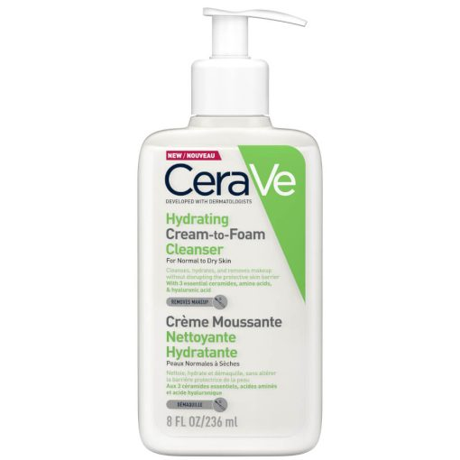 Cerave Hydrating cream-to-foam
