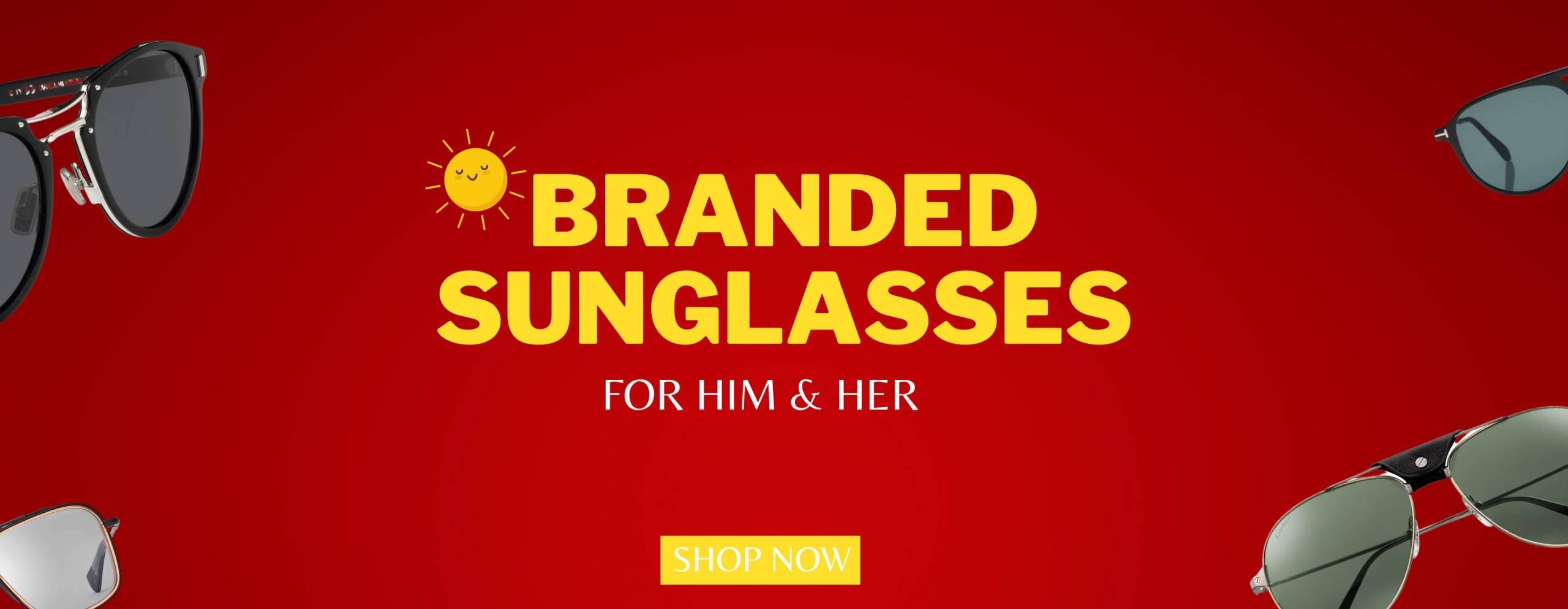 sunglasses banner