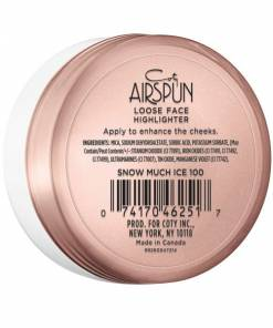 Coty Airspun Loose Face Highlighter Snow Much Ice1
